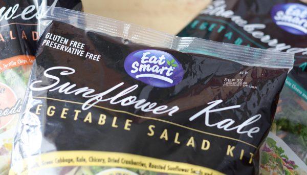 Sunflower Kale Flatbread #EatMoreVeggies #IC #ad