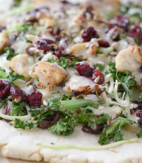 Sunflower Kale Flatbread