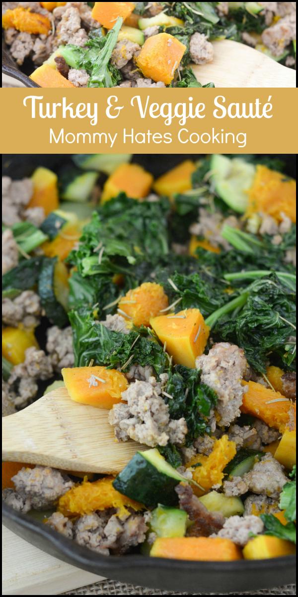 Turkey & Veggie Saute