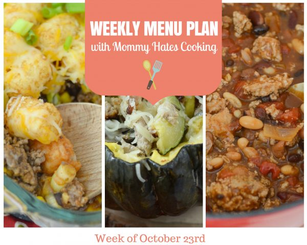 Weekly Menu Plan