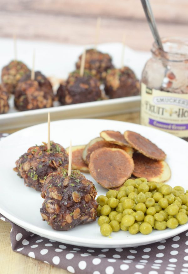 Concord Grape Meatballs