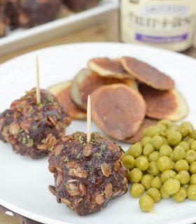 Concord Grape Meatballs