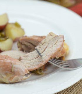 One-Dish Maple Chicken Thighs