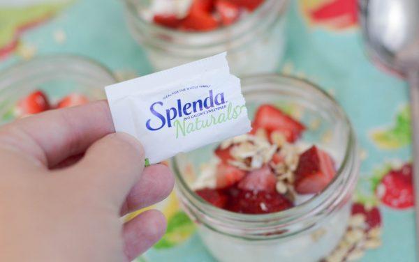 Strawberry Oat Parfaits #GoodbyeSugar30 AD