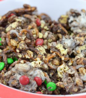 Chocolate Covered Snack Mix