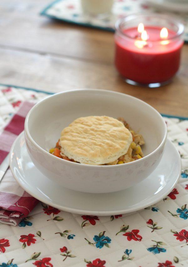 Chik'n Pot Pie Veggie Bowls #MyWaytoVeg #ad