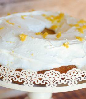 Strawberry Jalapeño Cream Cheese Cake