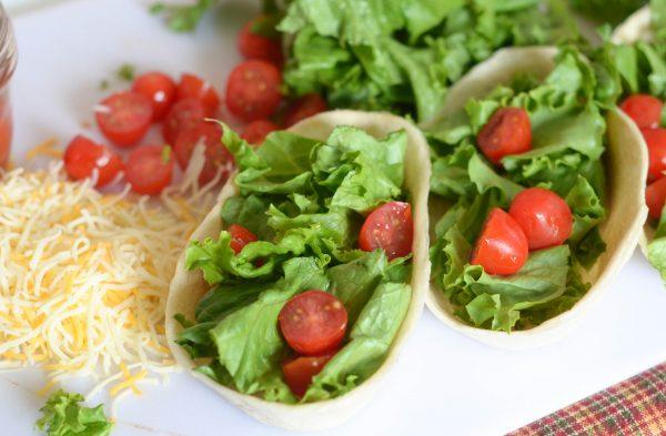 Taco Salad Boats