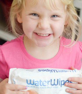 Staying Clean with WaterWipes