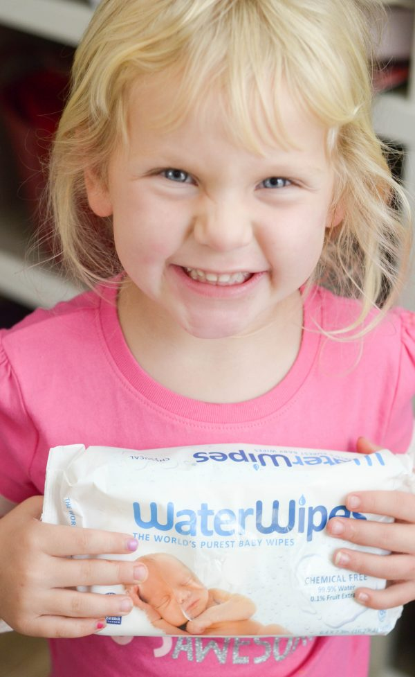 Staying Clean with WaterWipes #WaterWipesWalmart #ad