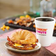 Breakfast-to-Go with Dunkin' Donuts