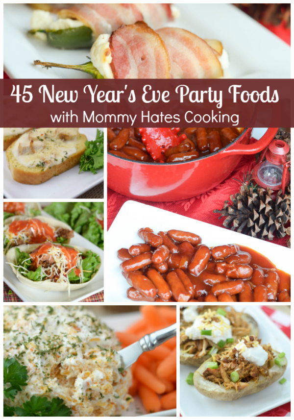 45 New Year's Eve Party Foods