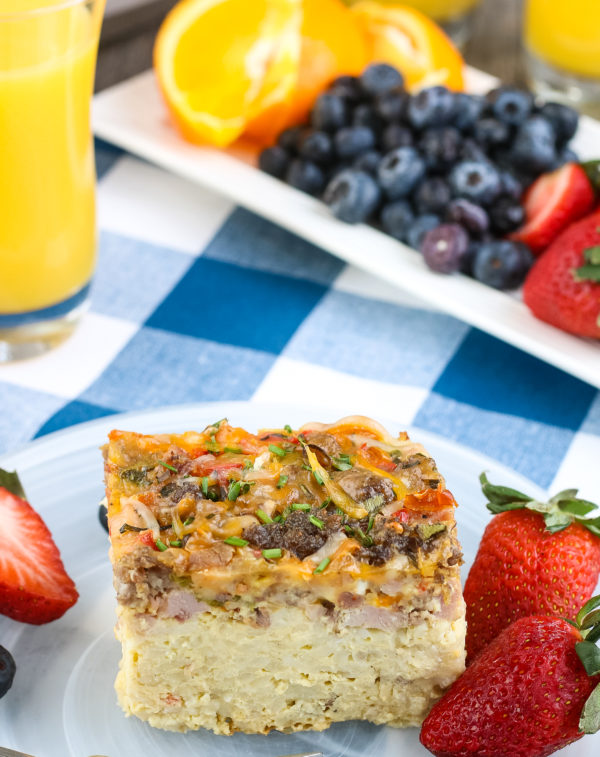 ninja foodi overnight breakfast casserole