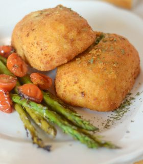 Barber Foods Stuffed Chicken Breast with Balsamic Asparagus