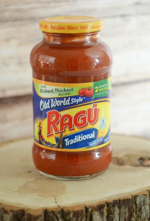 Chicken Parmesan with Spaghetti Squash #RaguWeeknightTradition AD