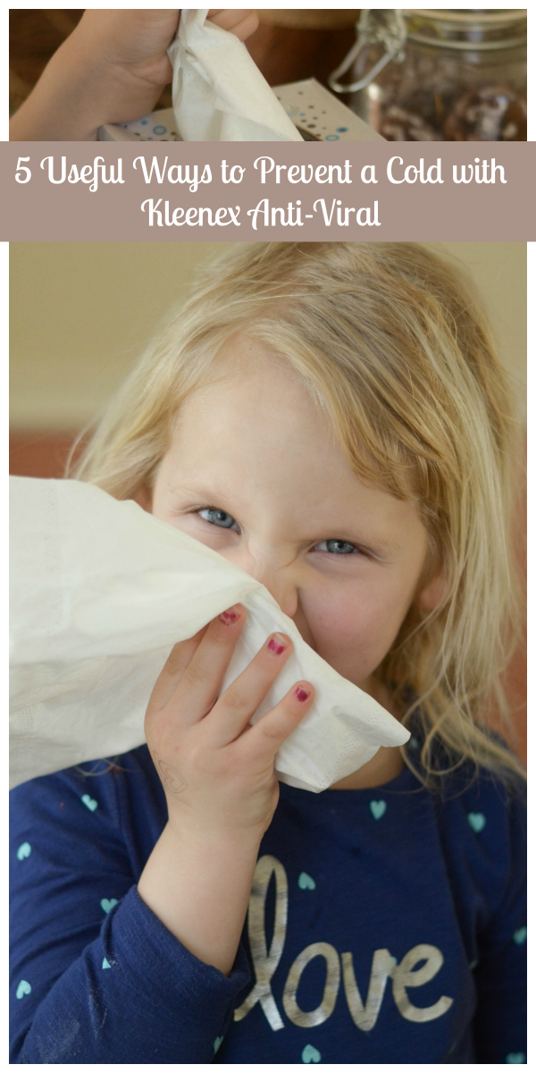 5 Useful Ways to Prevent a Cold #ShareKleenexCare #ad