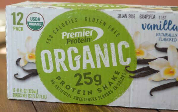 Boost Protein with Premier Protein Organic Shakes #PremierProtein AD