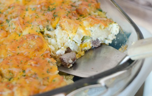 Crispy Breakfast Casserole