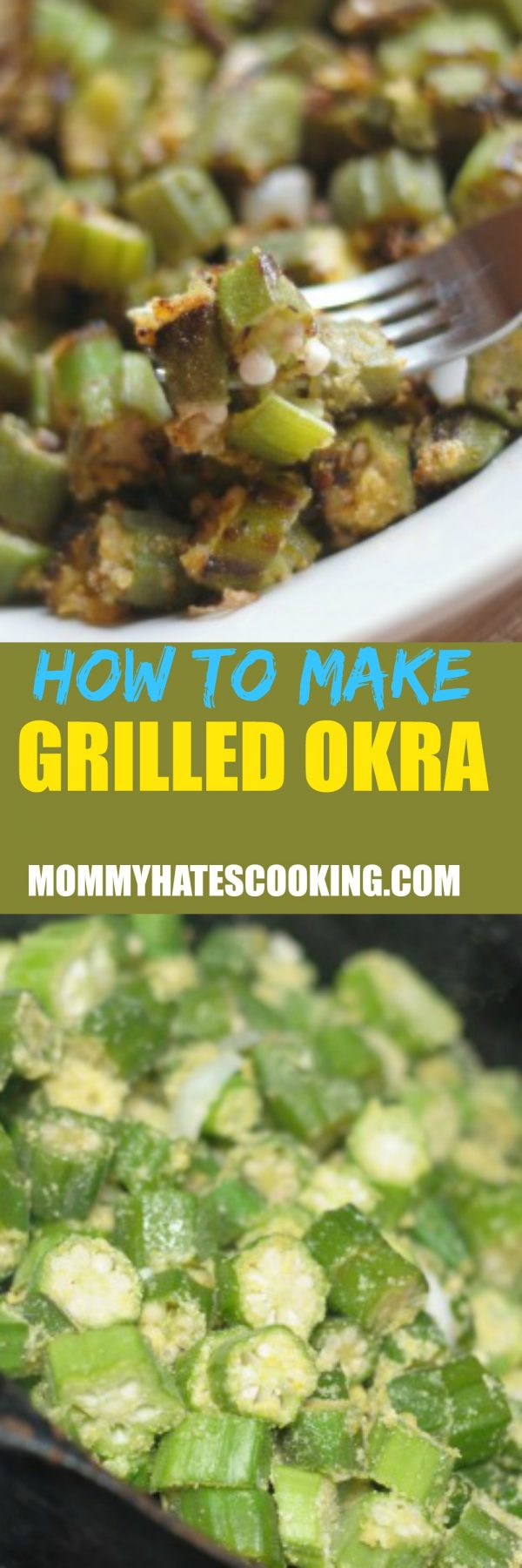 How to Make Grilled Okra