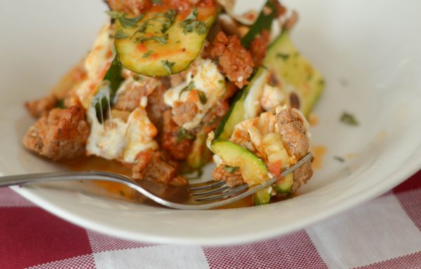 Hearty Zucchini Lasagna #TrendingintheKitchen AD