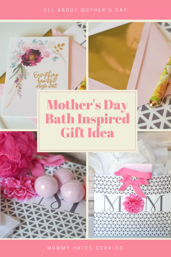 Bath Inspired Gift for Mother's Day #HallmarkforMom AD
