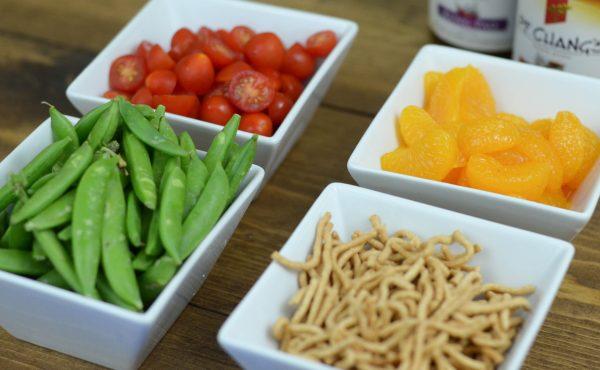 {Mason Jar Salad} Sesame Chicken Salad #SimpleSecret AD