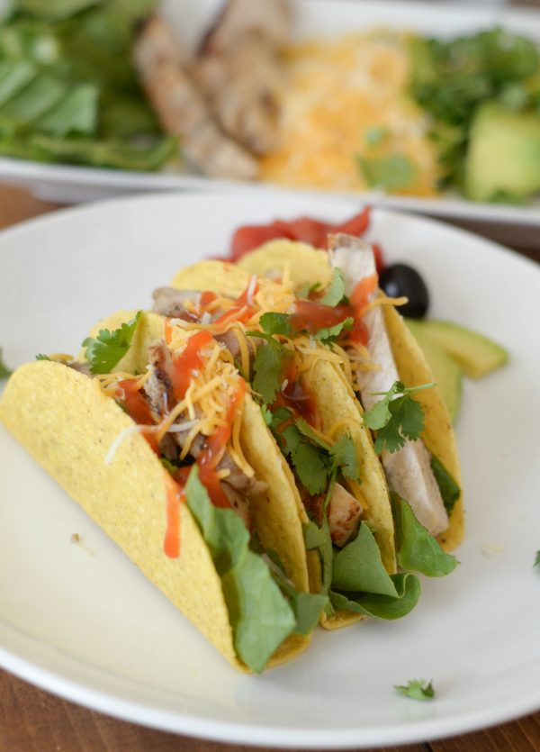 Chicken Fajita Tacos #OldElPaso AD