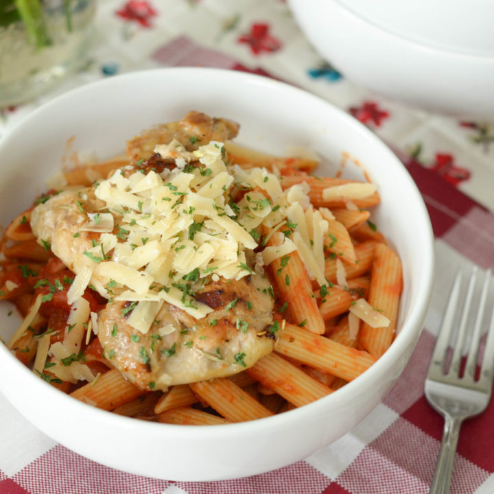 Tuscan Chicken Pasta Bowl