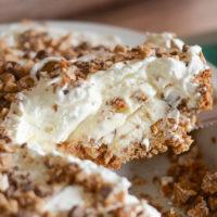 No Bake Blue Bunny® PB 'N Cone™ Ice Cream Pie