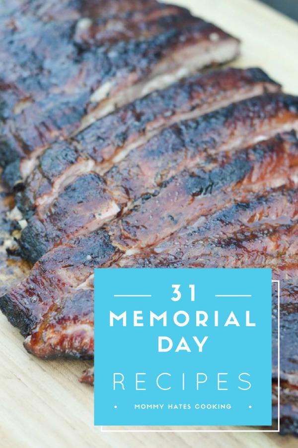 31 Memorial Day Recipe Ideas