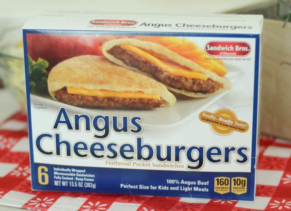 Angus Cheeseburgers + Creamy Potato Salad