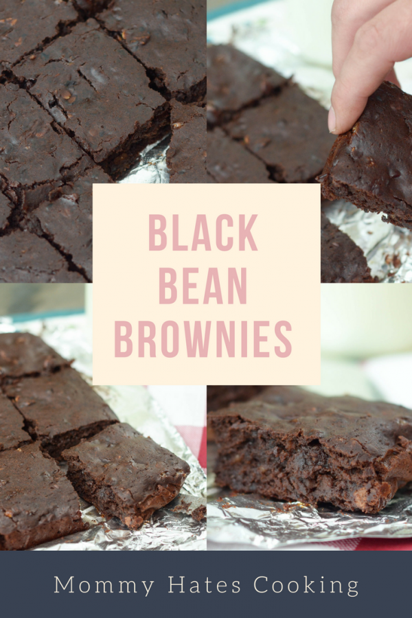 you may think this is crazy but these Black Bean Brownies are AMAZING ...