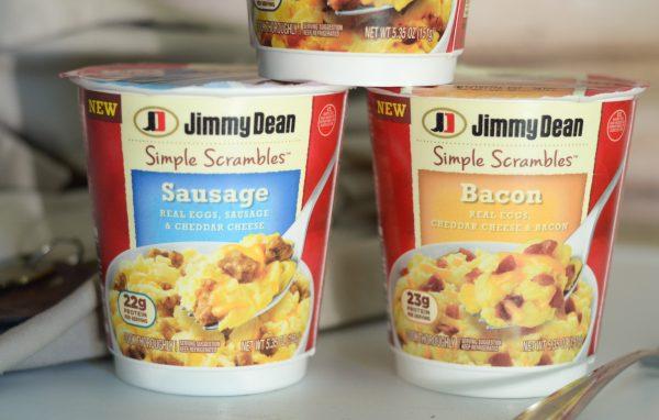 Breakfast in Minutes with Jimmy Dean Simple Scrambles