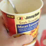 Breakfast in Minutes with Jimmy Dean Simple Scrambles