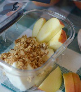 {Giveaway} Vanilla Apple Parfaits + Easy Food Storage