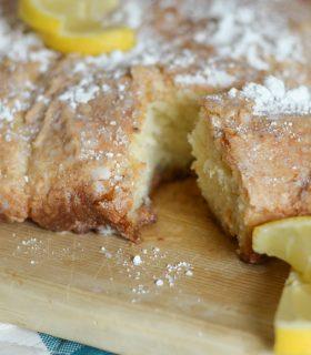 Vanilla Lemon Bread