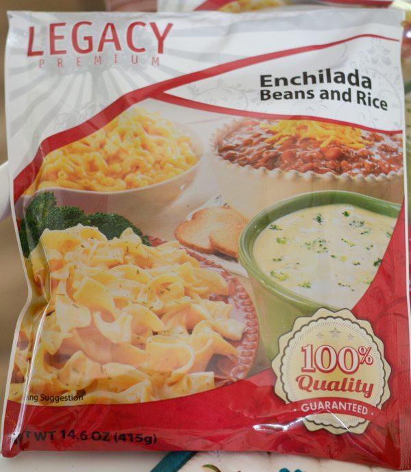 Enchilada Beef & Bean Casserole