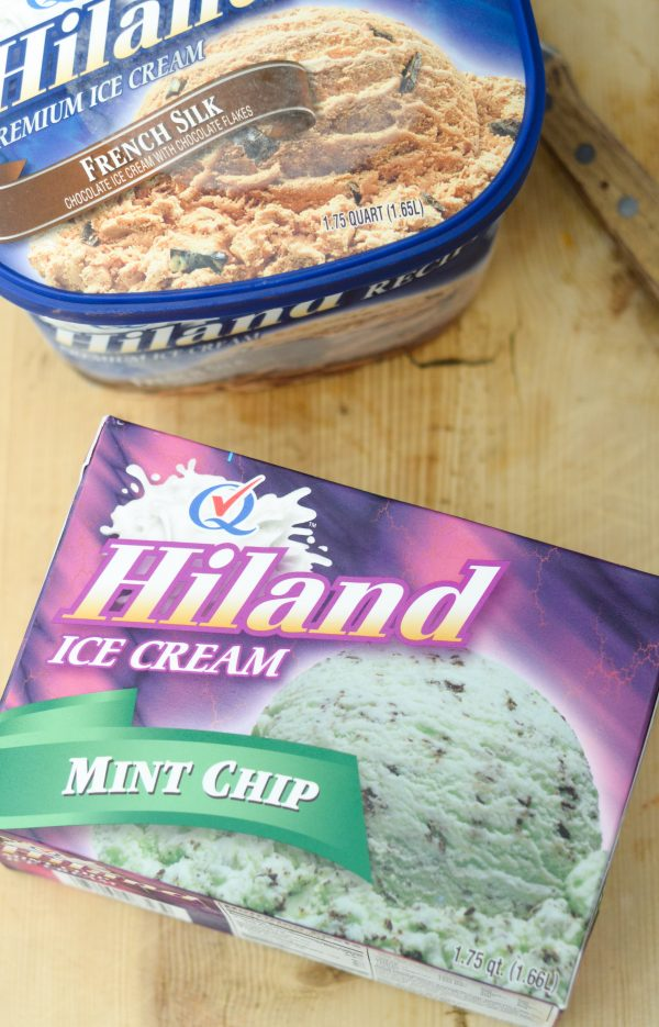 Mint Chocolate Floats #IScreamforHiland #HilandIceCream AD