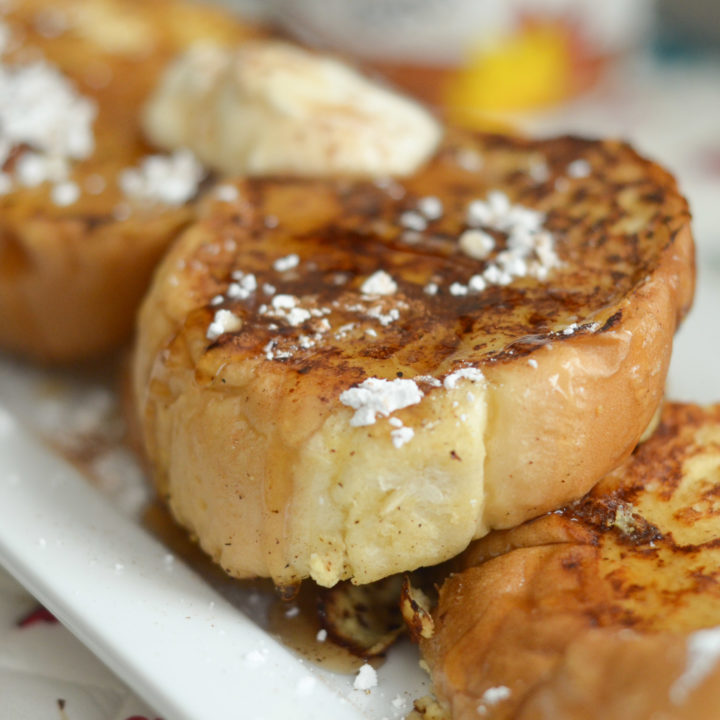 Creamy Maple French Toast