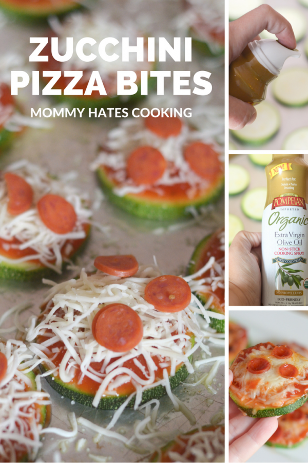 Zucchini Pizza Bites #TrendingintheKitchen #PantryInsiders #ad