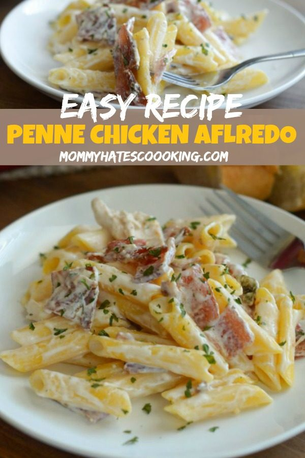 Penne Chicken Alfredo