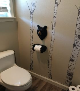 A Bear Bathroom Update