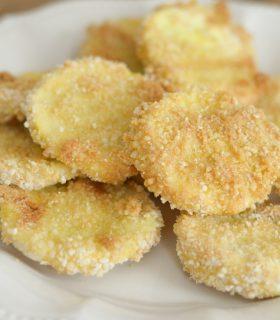 Gluten Free Crispy Squash Chips
