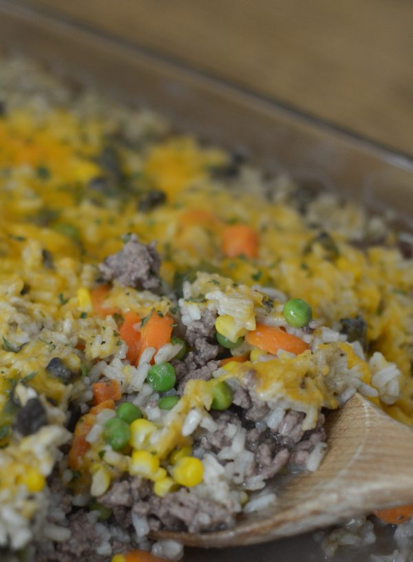 Beef Amp Rice Casserole Mommy Hates Cooking