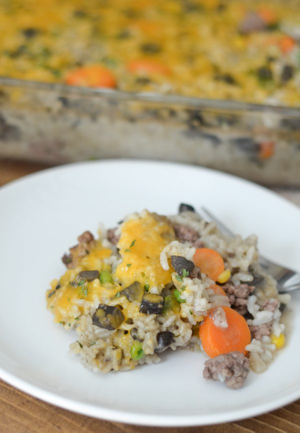 Beef & Rice Casserole