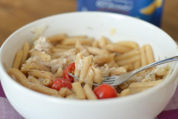 Chicken Salad Pasta Bowl #ReadyPasta #ad