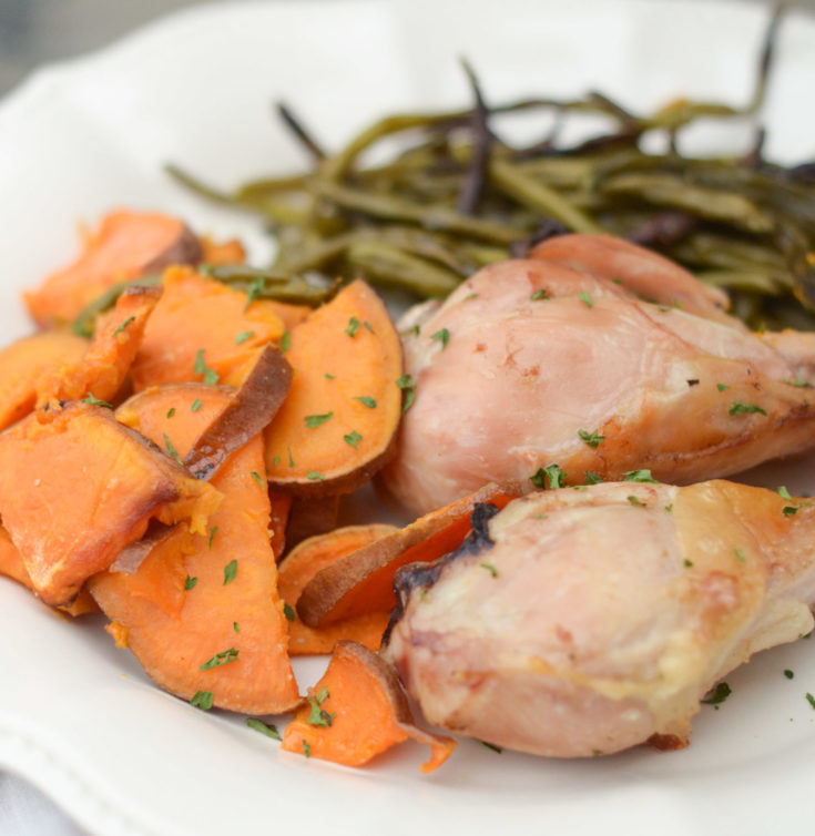 Sheet Pan Rosemary Chicken