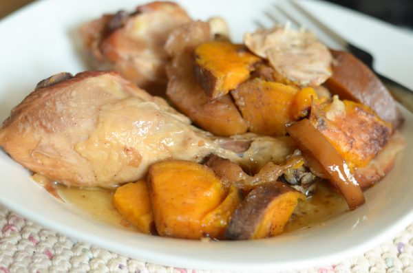 Slow Cooker Maple Chicken