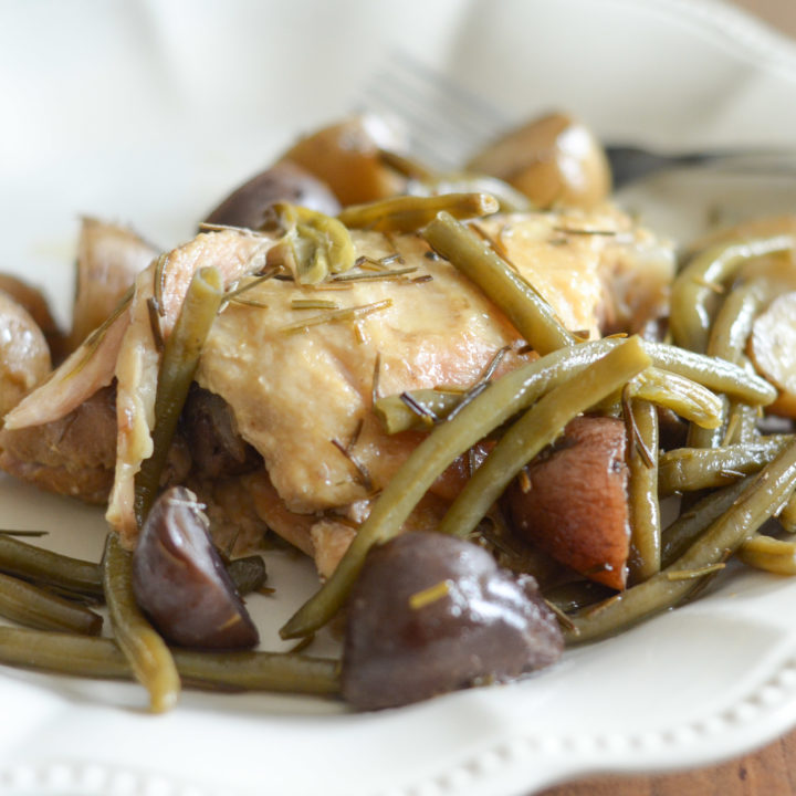 Slow Cooker Rosemary Chicken