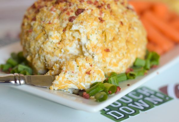 Bacon Cheddar Cheese Ball #SaveALotInsiders #SwitchandSave #ad